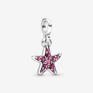 💉Pandora My Pink Starfish Dangle Charm